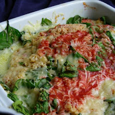 Couscous With Spinach and Pine Nuts