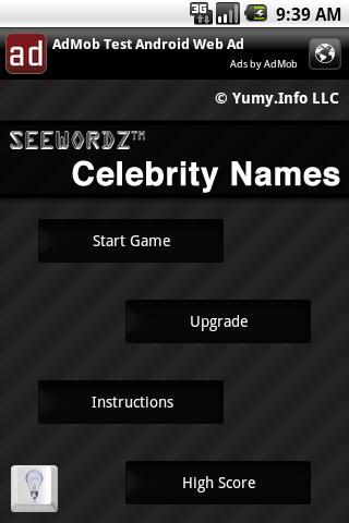 SeeWordz™ Celebrity Names Free