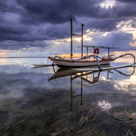 Cloudy☁ by Dek Seplo - Transportation Boats