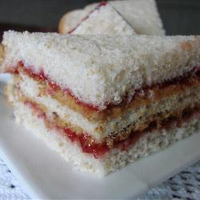 Ignacio's Super Peanut Butter and Jelly Sandwich