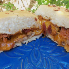 BBQ Chicken and Cheddar Sandwiches