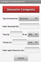 Screenshot of Calculadora Financeira