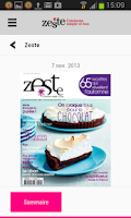 Screenshot of Zeste - Magazine