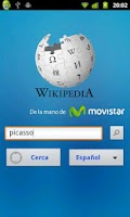 Screenshot of Wikipedia con Movistar (Perú)