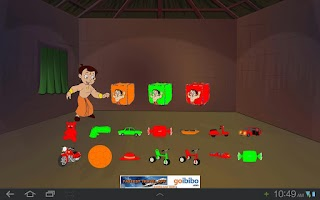 Screenshot of Toy Game with Chhota Bheem