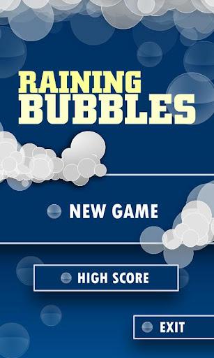Raining Bubbles Free