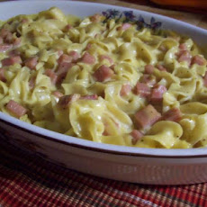 Spam and Noodle Casserole