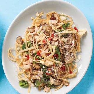 Sun-Dried Tomato Tuna Linguine