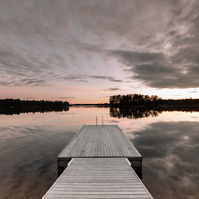 Finland Lake by Erik Pettinari - Landscapes Waterscapes