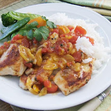 Chicken With Apricot Salsa