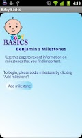 Screenshot of Baby Basics