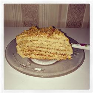 Latvian Honey Cake