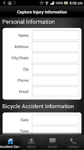 Boston MA Bicycle Accident Law - screenshot