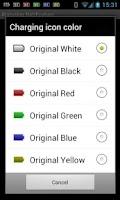 Screenshot of Battery Widget Icon Pack 3