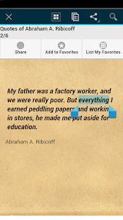 Quotes of Abraham A. Ribicoff - screenshot
