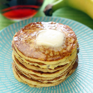 Four-Ingredient Protein Pancakes