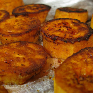 Baked Spiced Sweet Potatoes