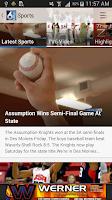 Screenshot of KWQC News