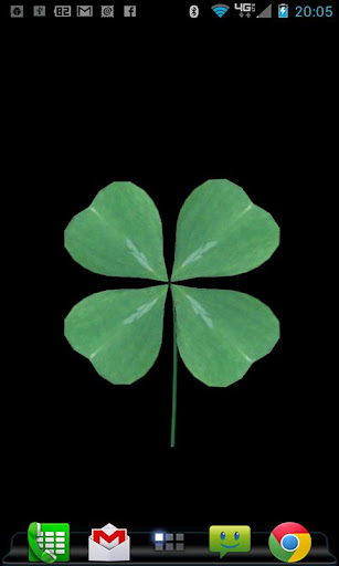 FourLeaf Clover Live Wallpaper