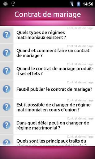 【免費生活App】FAQ Mariage-APP點子
