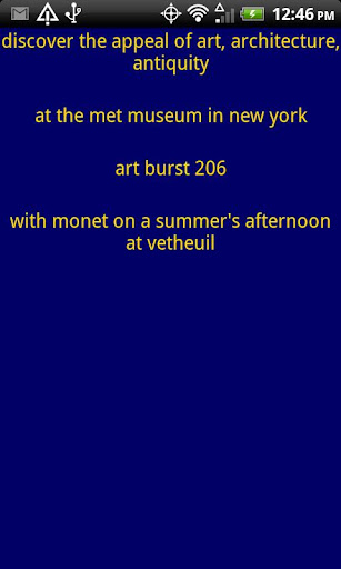 appeal of art at MMA in NY 330
