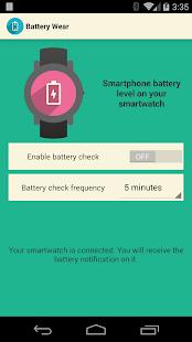 Battery wear