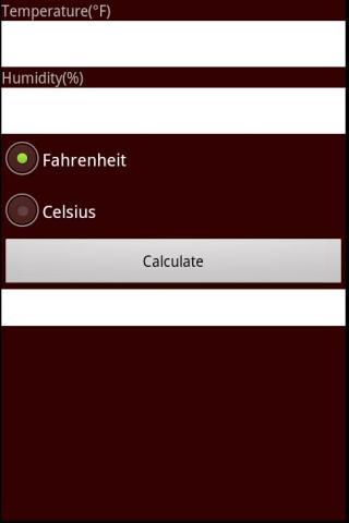 Heat Index Calc