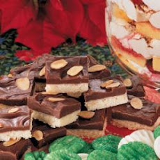 Fudge-Topped Shortbread