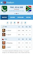 Screenshot of Live Cricket Scores & News