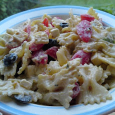 Penne Mediterranean Delight Salad - Diabetic Friendly
