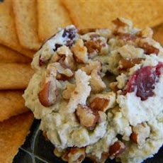 Blue Cheese, Sweet Pecan, and Cranberry Spread
