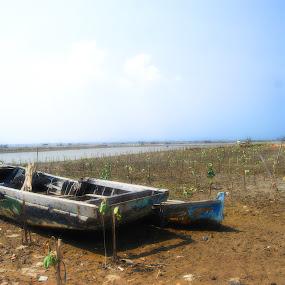 waiting by Rendy Yuninta - Transportation Boats ( water, indonesia, transportation, photography, marunda, device )