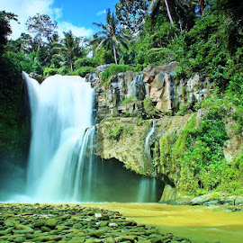 Tegenungan Waterfall Bali by Angga Bagoes - Novices Only Landscapes ( bali, indonesia, waterfall, summer, rocks )