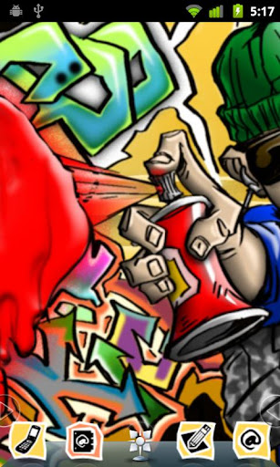 HipHop Style Taggin Theme