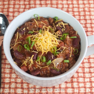 Slow Cooker Homemade Chili