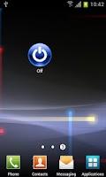 Screenshot of Widget Auto Off
