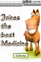 Screenshot of Jokes the best medicine