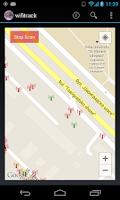 Screenshot of WiFi Track