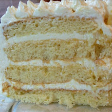 Lemon Layer Cake With Lemon Curd and Mascarpone
