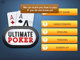 Screenshot of Ultimate Poker: Texas Holdem