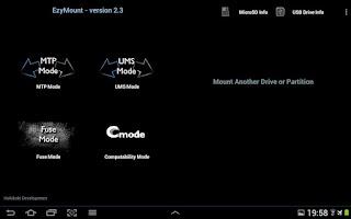 Screenshot of EzyMount