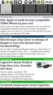 Newsflash Plus - screenshot