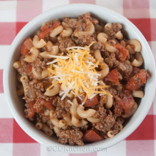 Quick Hamburger Goulash