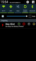 Screenshot of Stay Alive! Keep screen awake