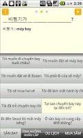 Screenshot of hội thoại tiếng Hán Quốc