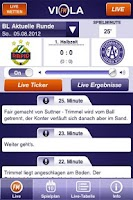 Screenshot of ViolaFM - das Fußballradio