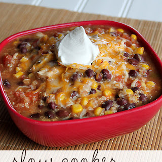 Red Chicken Chili Slow Cooker Recipes