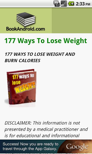 177 Ways To Lose Weight
