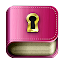 Diary with lock password APK for Blackberry