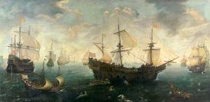 RIJKS: Cornelis Claesz. van Wieringen: painting 1625
